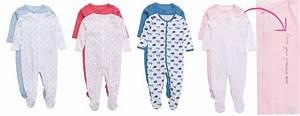 Baby pyjamas med fötter