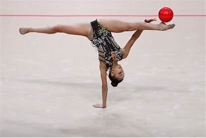 Gymnastics Rhythmic Averina Championships Title Around Consecutive