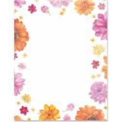 Flower Page Borders Microsoft Word