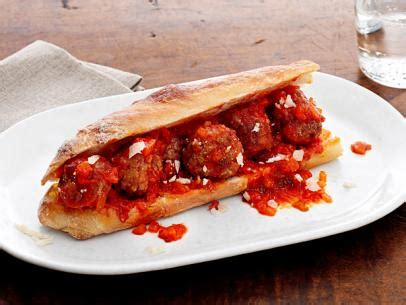 meatball subs recipe rachael ray food network