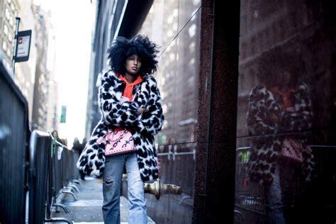 Pin by JKellye on Afro | New york fashion week street ...