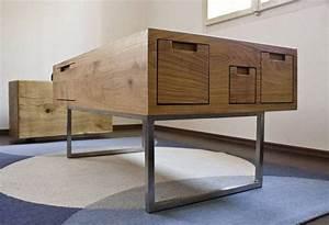 Couchtisch Holz Modern : couchtisch modern wohnzimmer ideen top ~ Markanthonyermac.com Haus und Dekorationen