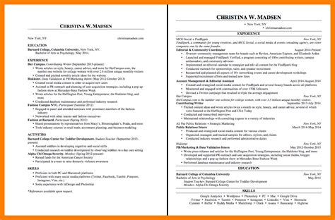 2 Page Resume by 2 Page Cover Letter Exles Resume Format