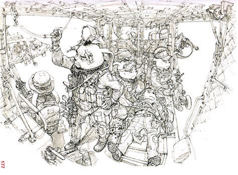 Kim Jung Gi Works 2011 Sketch Collection Art Book