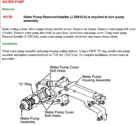 How Hard Change The Water Pump Cad