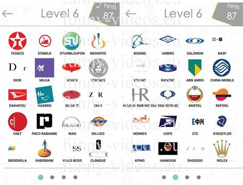 logo quiz answers level 6logo quiz level 6 answers gameswallpaperhd chainimage