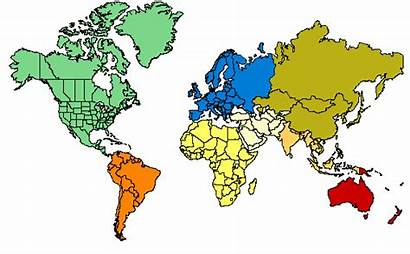 Map Countries Outline Clipart Clip Maps Globe