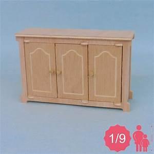 Meuble Bas 3 Portes : meuble bas miniature pour poup e 1 9 me ex pukifee ~ Teatrodelosmanantiales.com Idées de Décoration