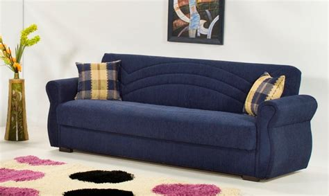 Blue Chenille Sofa by Chenille Marcopolo Blue Sofa Bed By Kilim
