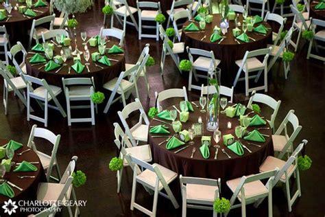 emerald green and brown wedding decor green and brown wedding table settings emerald green