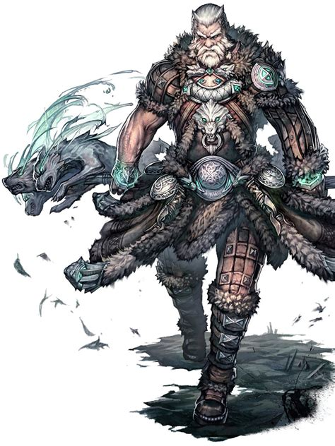 Norn Medium Armor Art - Guild Wars 2 Art Gallery