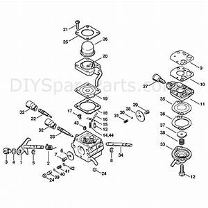Stihl Fc 110 Edger  Fc 110  Parts Diagram  Carburetor C1q