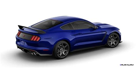 ford colors 2016 shelby ford mustang gt350r colors