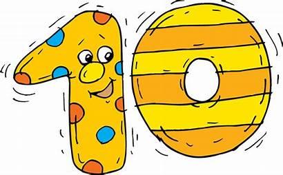 Ten Clipart Number Clip Cartoon Pinclipart Cliparts