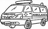 Ambulance Gambar Mobil Coloring Mewarnai Untuk Warnai Coloriage Sketsa Transports Realistic Sheets Printable Colouring Belajarmewarnai Koleksi Belajar Cartoon Grayscale Designed sketch template