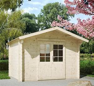 Gartenhaus Streichen Vor Aufbau : luoman gartenhaus kanada 1 28 bxt 350x296 cm inkl aufbau und fu boden 28 mm wandst rke ~ Buech-reservation.com Haus und Dekorationen
