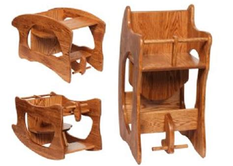 amish 3 in 1 high chair plans superior woodcrafts wide convertible highchair 3 in 1