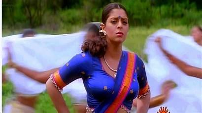 Actress Nagma Indian Gifs Navel Boobs Cleavage