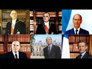 President De La Republique France