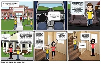 Calentamiento Global Comic Storyboard