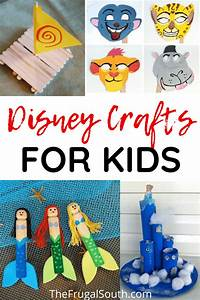 easy disney crafts for in 2020 disney crafts for