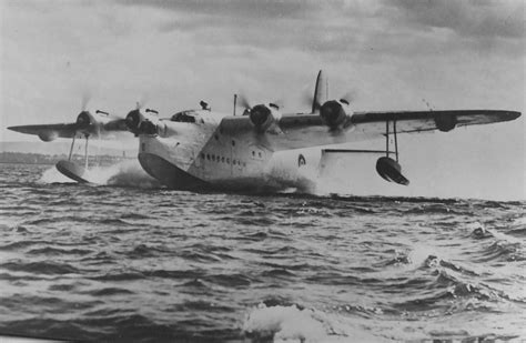Flying Boats Of Ww2 sunderland at lough erne county fermanagh northern