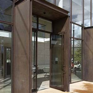 portes d39entree vitrees avec dormant en aluminium soude With portes d entrée vitrées en aluminium