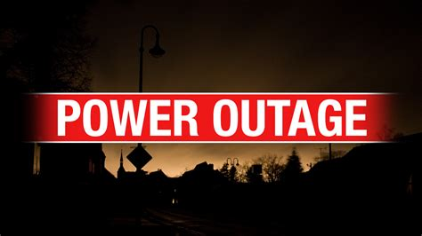 downed power lines causing power outage  stroud