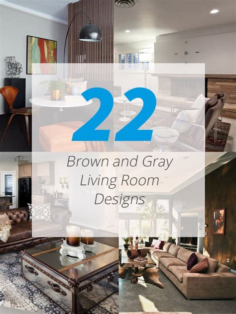 Decorating Ideas For Living Room Brown by 22 Gorgeous Brown And Gray Living Room Designs Home