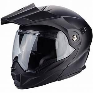 Casque Scorpion Modulable : casque adx 1 solid scorpion moto dafy moto casque modulable de moto ~ Medecine-chirurgie-esthetiques.com Avis de Voitures