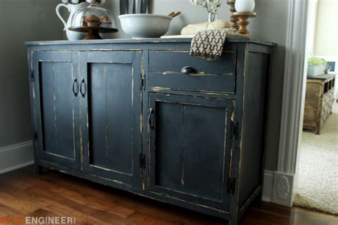 Kitchen Cabinets Organization Blog by Farmhouse Buffet Free Diy Plans Rogue Engineer