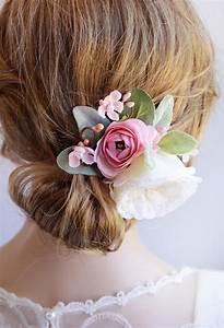 Hair Flower Wedding Bridal Hair Piece Bridal Hair Clip