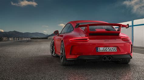 guards red porsche guards red 2018 porsche 911 gt3 shines in its birthday