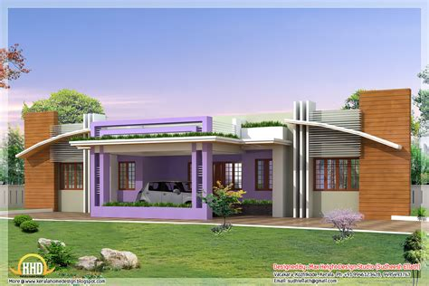Four India style house designs - Kerala home design and