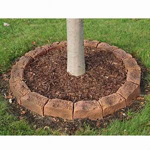 Edging Stones for Tree Rings and Landscaping, Simulated Rock