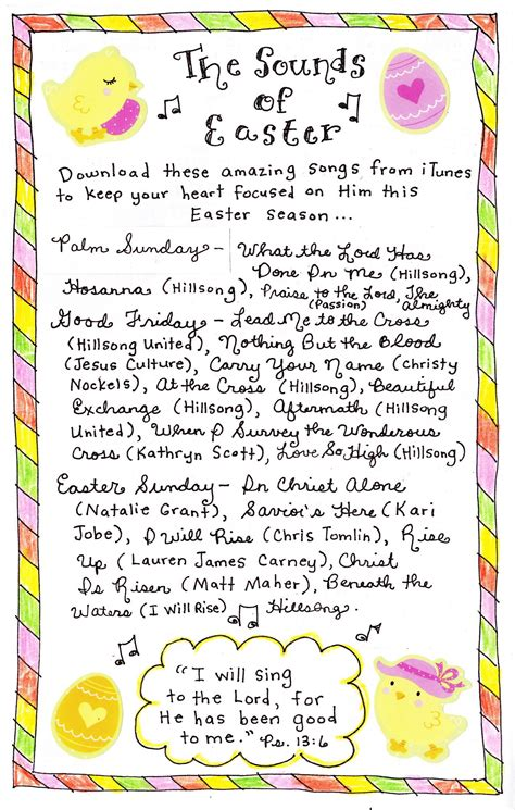 the sounds of easter happy home 762 | the sounds of easter at happyhomefairy com1