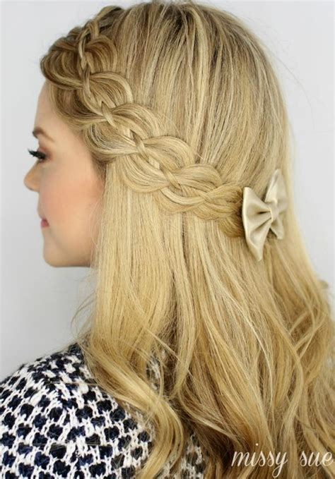 Braided Hairstyles With by 20 Trendy Half Braided Hairstyles