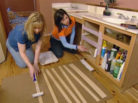 How To Reface Cabinet Doors - refacing bathroom cabinets how tos diy