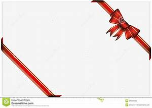 Red Gift Bow With Ribbons Royalty Free Stock Image - Image ...
