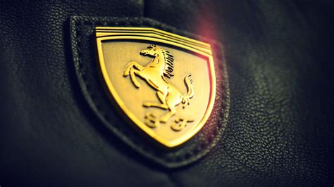 The famous ferrari symbol is a black prancing horse on a canary yellow background. Black and Gold Wallpaper HD | PixelsTalk.Net