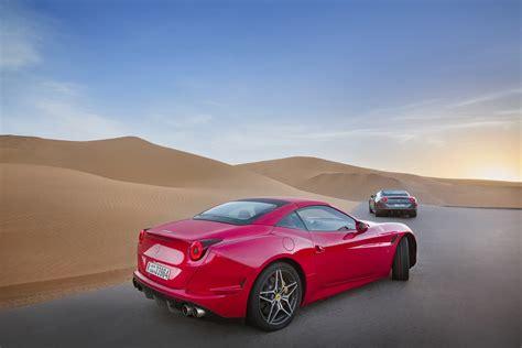 The Ferrari California Deserto Rosso Makes Its Dessert Debut