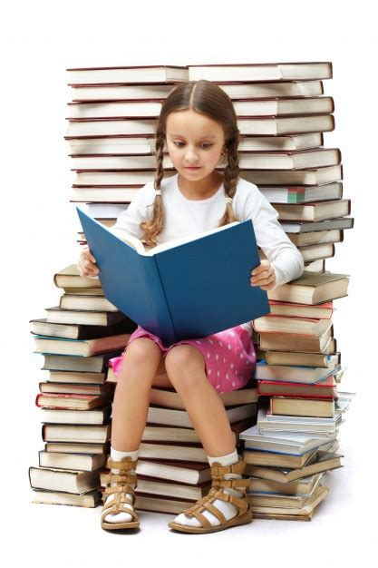 Girl Reading Alone Photo  Free Download