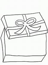 Coloring Gift Boxes Drawing Ribbon Popular Children Getdrawings sketch template