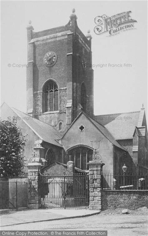 Kingston Upon Thames, All Saints Church 1896 - Francis Frith