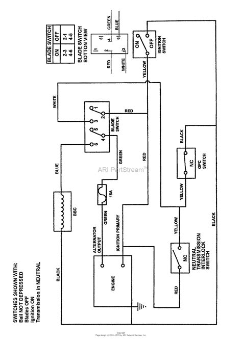 Starter Wiring Diagram Schematic by Snapper Pro 7084615 Splh151kh 15hp Kohler Series 1