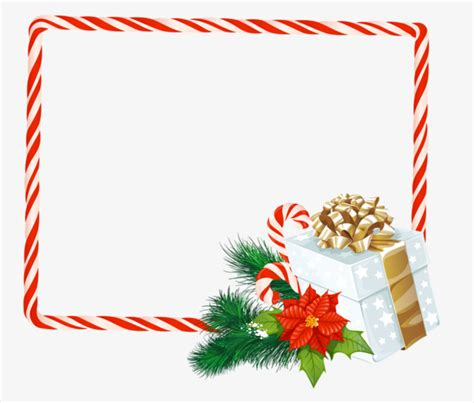 natale clipart gratis border gift frame png image and clipart