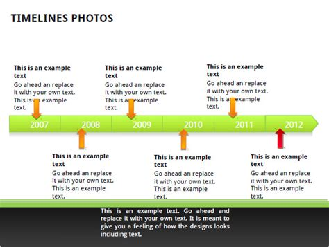 business timeline templates samples examples format