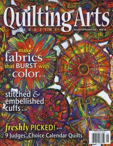 quilting arts magazine augustseptember  issue