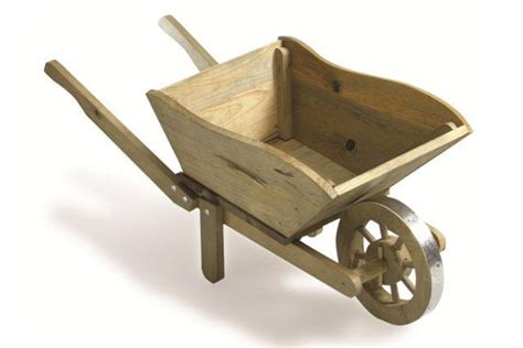 small decorative wheelbarrow plans free
