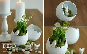 Deko Aus Naturmaterialien Selber Machen : diy h bsche oster deko vasen einfach selber machen deko kitchen ~ Whattoseeinmadrid.com Haus und Dekorationen